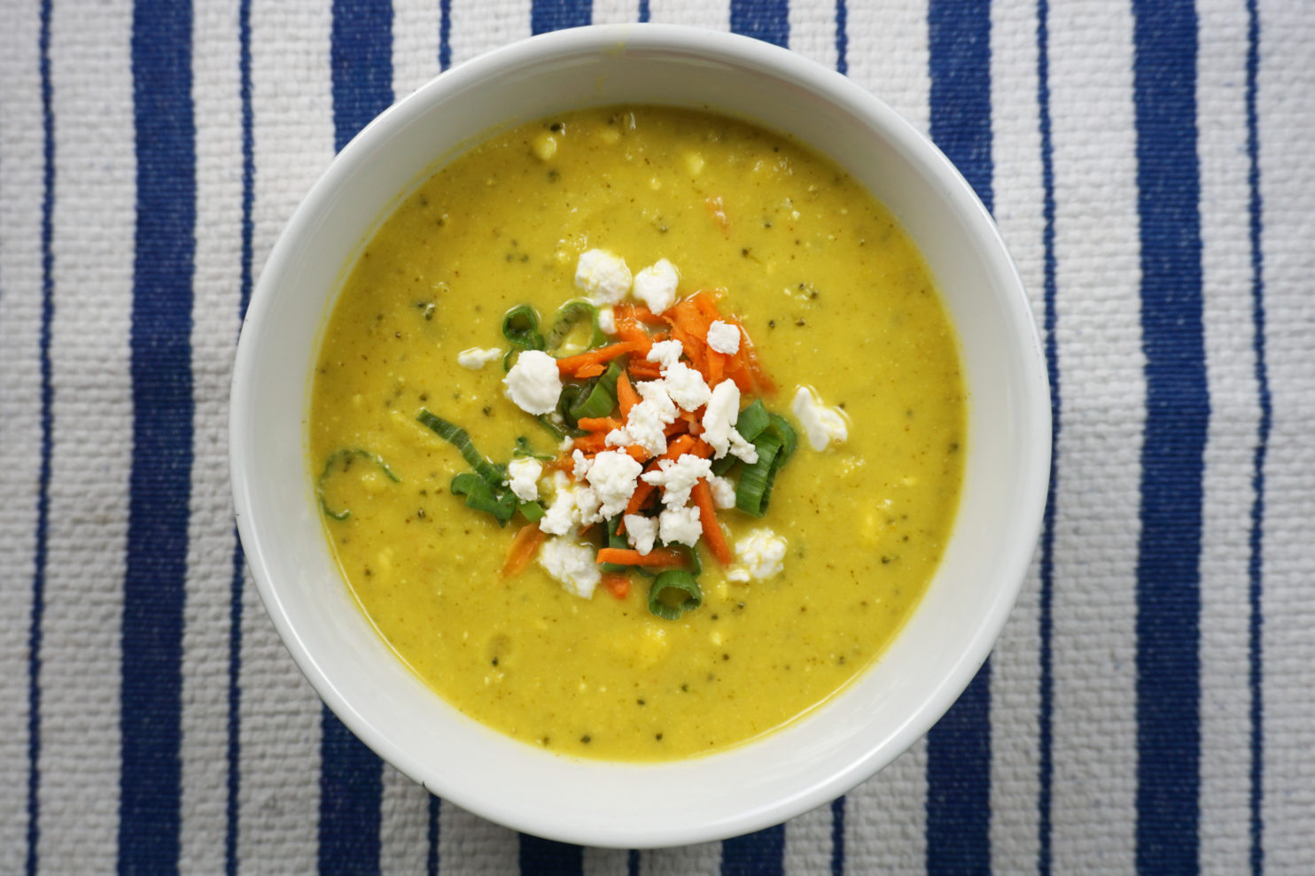 creamy antioxidant and anti-inflammatory soup